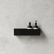 Suihkuhylly Bath Shelf 40, musta, Nichba Design